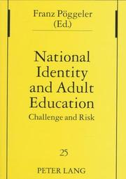 Cover of: National Identity and Adult Education | Franz Poggeler