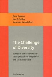 Cover of: The challenge of diversity by Forum Scholars for European Social Democracy. Conference