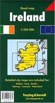 Cover of: Ireland Road Map | Freytag & Berndt