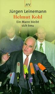 Cover of: Helmut Kohl | Jürgen Leinemann