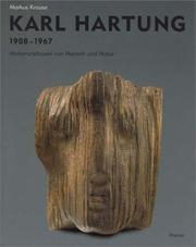 Cover of: Karl Hartung | Krause, Markus