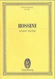 Cover of: Stabat Mater | Luciano Tomelleri
