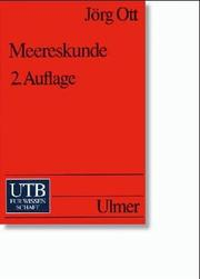 Cover of: Meereskunde | Jörg A. Ott