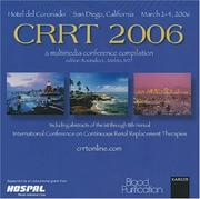 Cover of: Crrt 2006 - a Multimedia Conference Compilation by R. L. Mehta