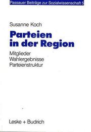 Cover of: Parteien in der Region | Susanne Koch