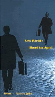 Cover of: Hand im Spiel | Urs Richle