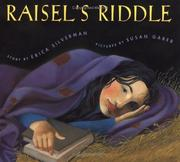 Cover of: Raisel's Riddle (Sunburst Book) by Erica Silverman