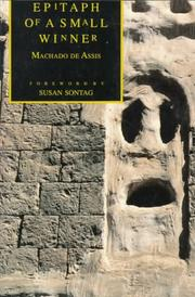 Cover of: Epitaph of a Small Winner | Machado de Assis