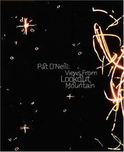 Cover of: Pat O'Neill | Julie Lazar, Paul Arthur, Howard Singerman, Erika Suderburg