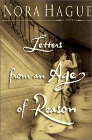 Cover of: Letters from an age of reason | Nora Hague