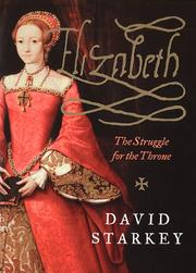 Cover of: Elizabeth | David Starkey