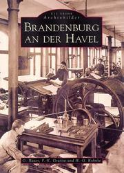 Cover of: Brandenburg an der Havel by Gudrun Bauer