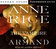 Cover of: The Vampire Armand (Rice, Anne, Vampire Chronicles (New York, N.Y.) by Anne Rice