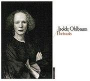 Cover of: Portraits by Isolde Ohlbaum
