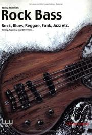 "Cover of: Rock, Blues, Reggae, Funk, Jazz, etc | Hans-Juergen ""Jacky"" Reznicek"