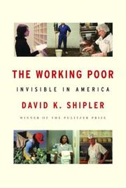 Cover of: The working poor | David K. Shipler