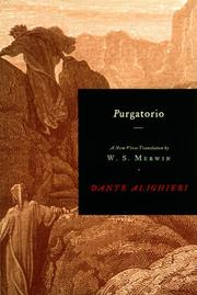 Cover of: Purgatorio by Dante Alighieri