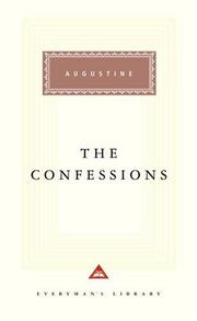 Cover of: The Confessions (Everyman's Library (Alfred a. Knopf, Inc.).) | Robin Lane Fox
