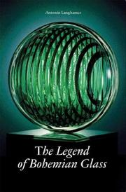 Cover of: Legend of Bohemian Glass | Antonin Langhamer
