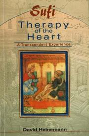 Cover of: Sufi Therapy of the Heart | David Heinemann