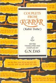 Cover of: Couplets from Kabir; Kabir Dohe | G. N. Das