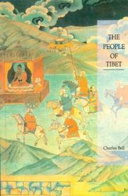 Cover of: The People of Tibet | Sir Charles Bell