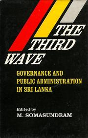 Cover of: The Third Wave | M. Somasundram