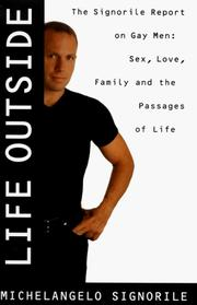 Cover of: Life outside by Michelangelo Signorile