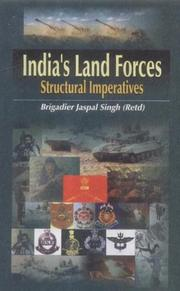 Cover of: India's Land Forces | Jaspal Singh