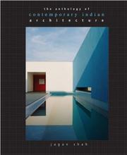 Cover of: Contemporary Indian Architecture | Jagan Shah