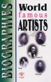Cover of: World Famous Artists | C.M. Nag