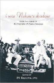 Cover of: I Was Nehru's Shadow | P. V. Rajgopal