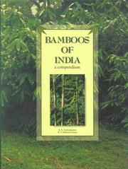 Cover of: Bamboos of India by K. K. Seethalakshmi