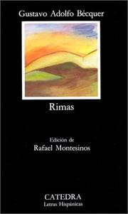 Cover of: Rimas by Adolfo Gustavo Becquer