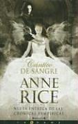Cover of: Cantico de sangre by Anne Rice