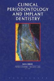 Cover of: Clinical Periodontology and Implant Dentistry | Lindhe