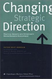 Cover of: Changing Strategic Direction | Peter Skat-Rordam