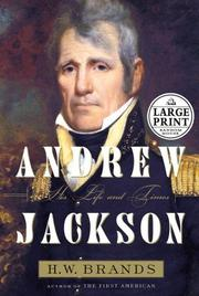 Cover of: Andrew Jackson by H. W. Brands
