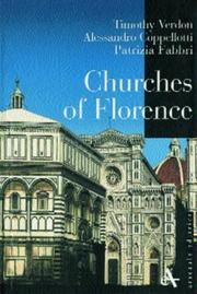 Cover of: Churches of Florence | Timothy Verdon