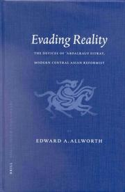 Cover of: Evading reality | Edward Allworth