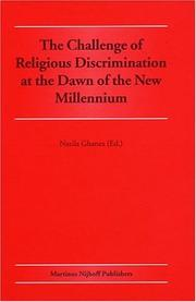 Cover of: The Challenge of Religious Discrimination at the Dawn of the New Millennium by Nazila Ghanea-Hercock
