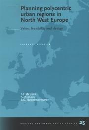 Cover of: Planning polycentric urban regions in North West Europe by E. J. Meijers