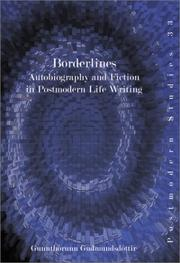 Cover of: Borderlines | Gunnthorunn Gudmundsdottir