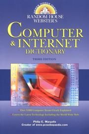 Cover of: Random House Webster's Computer & Internet Dictionary by Philip E. Margolis