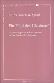 Cover of: Ein Held des Glaubens? by C. Houtman