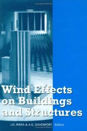 Cover of: Wind Effects on Buildings & Structures | Riera