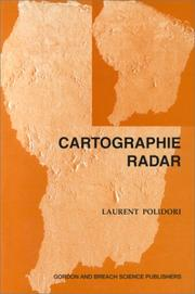 Cover of: Cartographie Radar (Univers De La Telediction) | L. Polidori