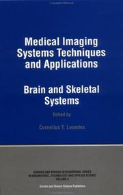 Cover of: Medical Imaging Systems Techniques and Applications | LEONDES