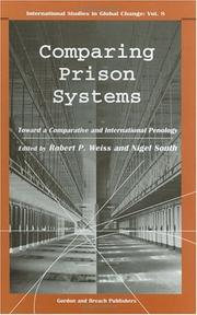 Cover of: Comparing Prison Systems by Nigel South
