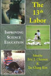 Cover of: The thirteenth labor | Eric Chaisson